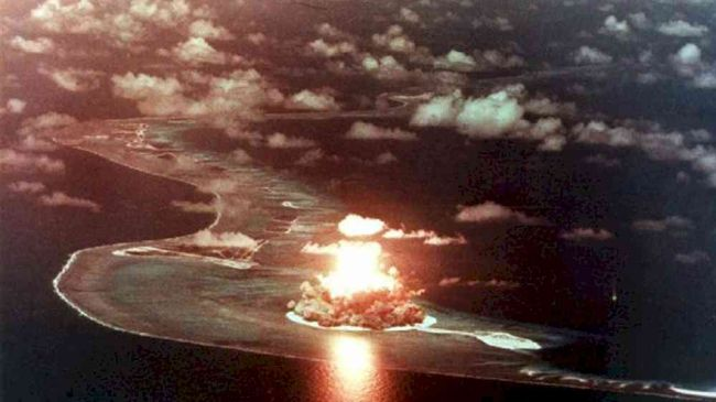 U.S. conducts atomic test amid global urge for nuclear disarmament