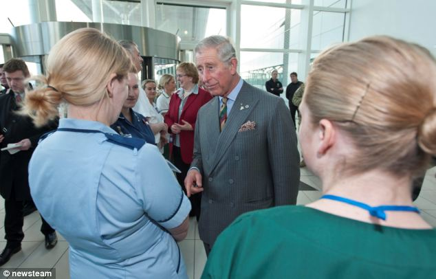 'Doctors must learn care and compassion': Prince Charles claims modern medicine is putting the 'human touch' at risk