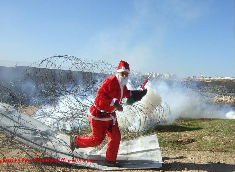 santa claus israel ban christmas