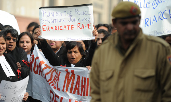 Murder charges are filed against 5 men in New Delhi gang rape