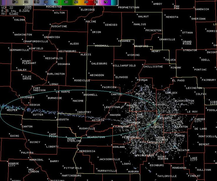 What, exactly, is that radar anomaly in Mason County?