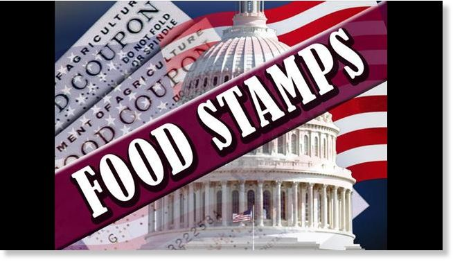 Receipts For The Federal Government For The Food Stamps Program