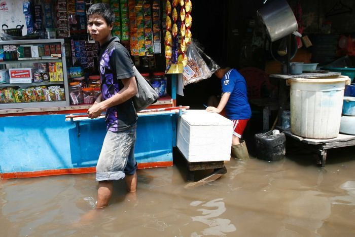 Jakarta sinking by up to 10cm a year, as water supplies dry up