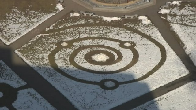"Too cold for crop circles, ""Snow Circles"" appear in Connecticut"