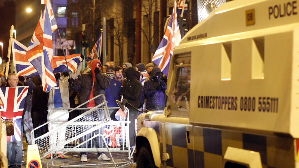 Unionist riots in Short Strand, Belfast  -  history repeating itself