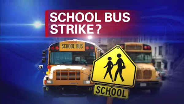 New York City's school bus drivers plan to strike Wednesday