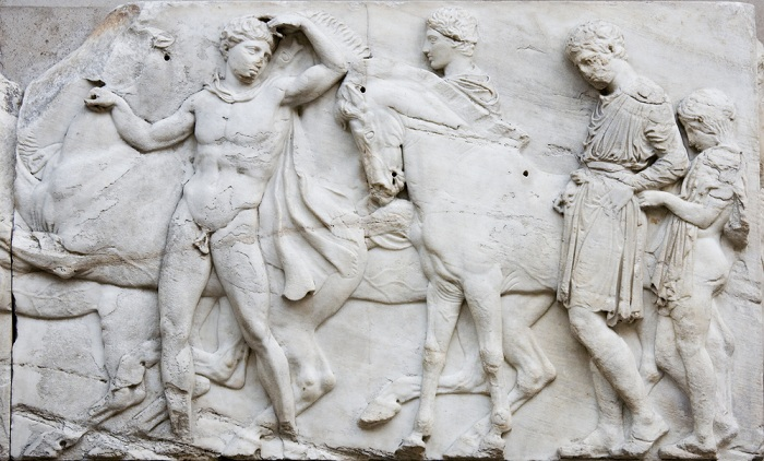 Elgin Marbles and the Parthenon