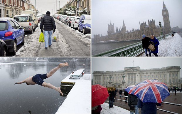 Mayor of London: It's snowing, and it really feels like the start of a mini ice age