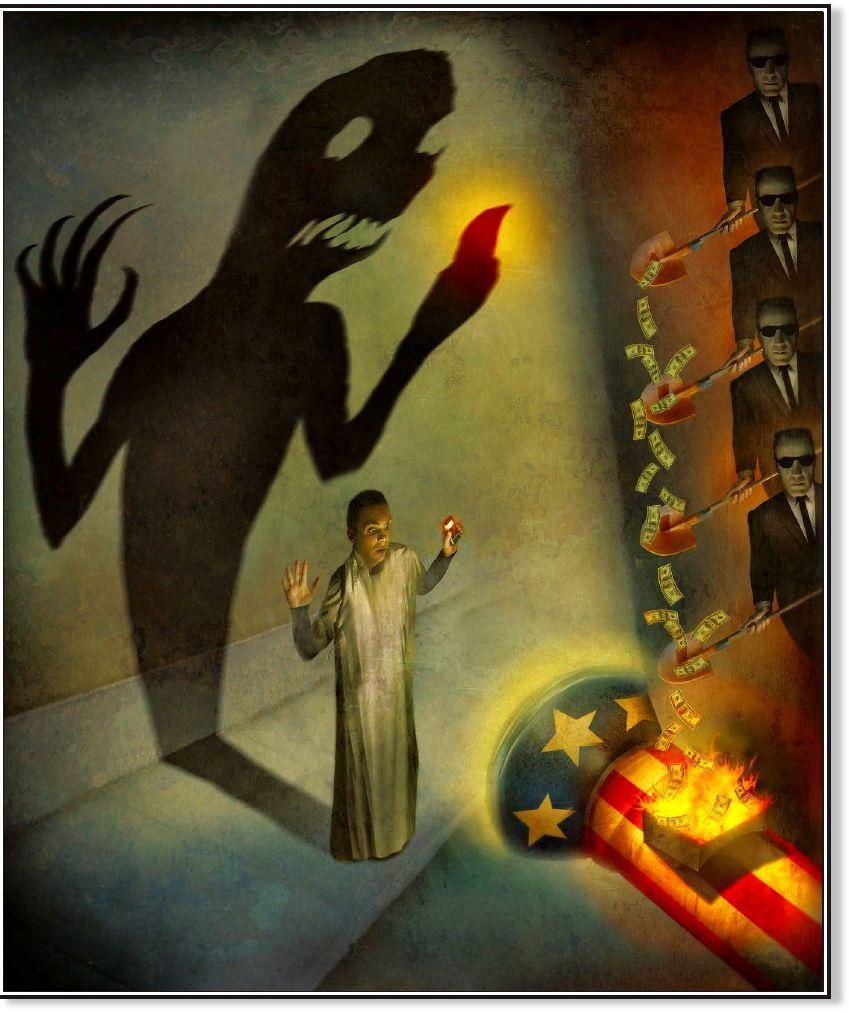western media ratcheting up anti-iran propaganda  -- puppet masters