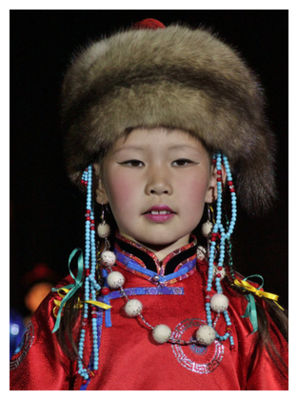 Buryat Child
