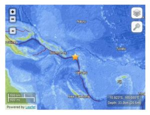 Santa Cruz Islands Quake_060213