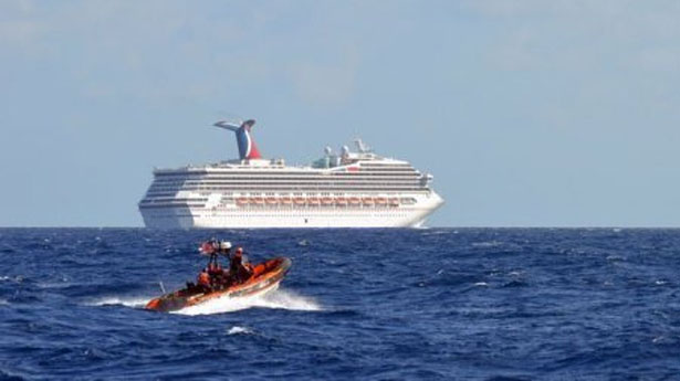 Disabled cruise ship previously had electrical problems, Carnival admits