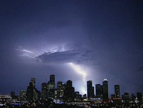 Houston's super lightning storm mapped out -- Earth ...