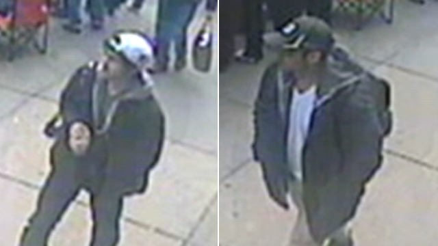 FBI releases images of suspects in Boston Marathon bombing