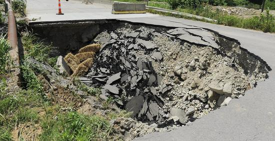 Missouri sinkhole area called 'very dangerous' to public