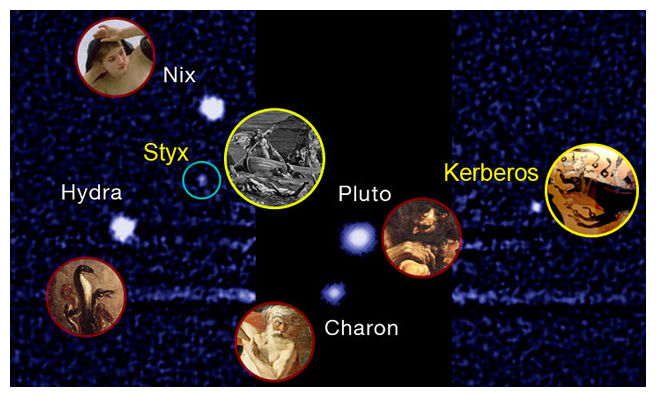 Pluto s moons get official names star trek be damned science