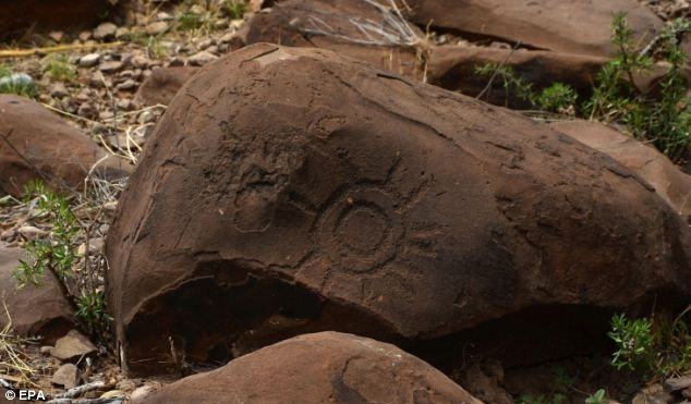 Archeologists discover thousands of stone age etchings in