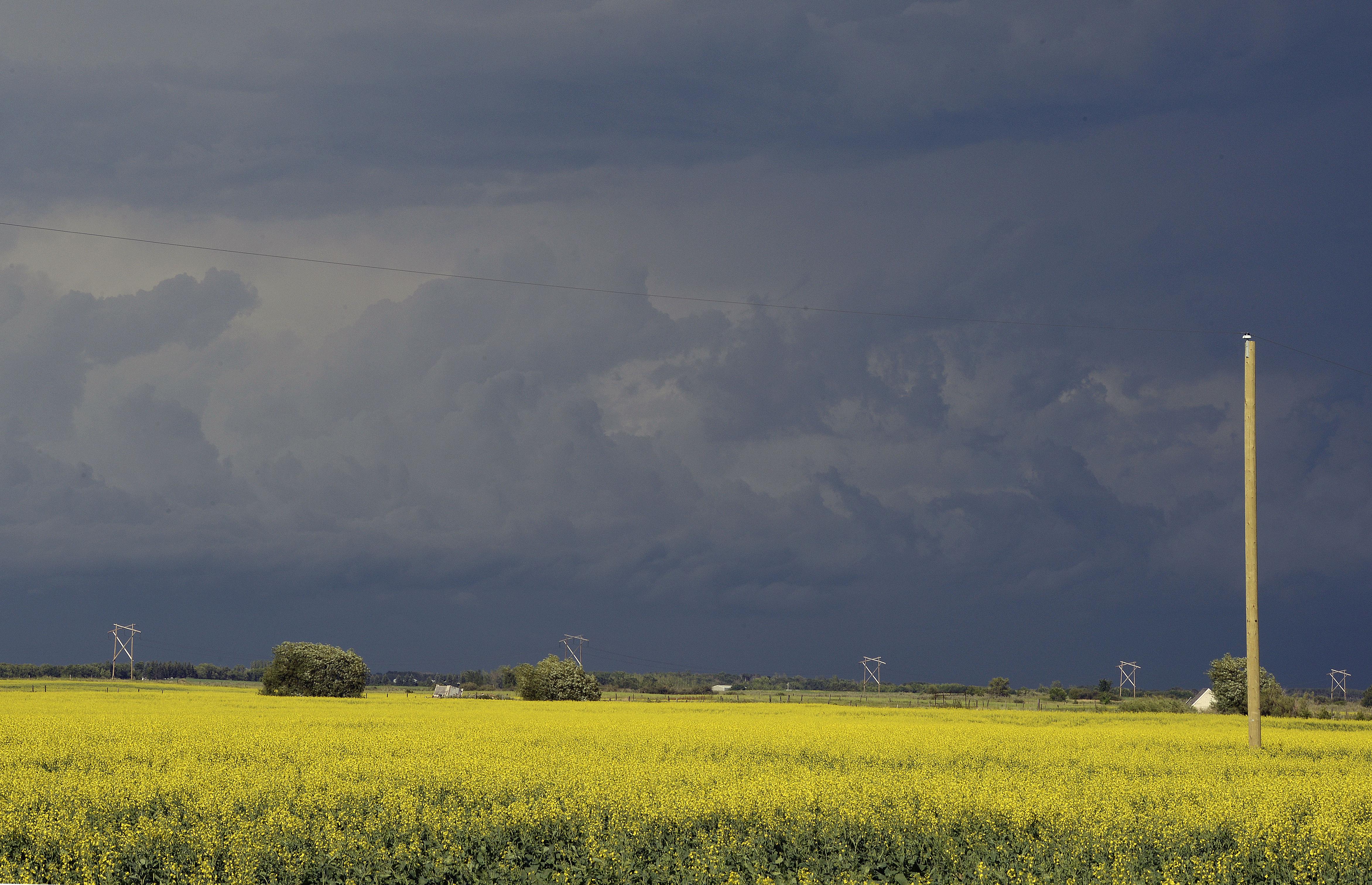 huge storm brings hail  multiple tornadoes to saskatchewan
