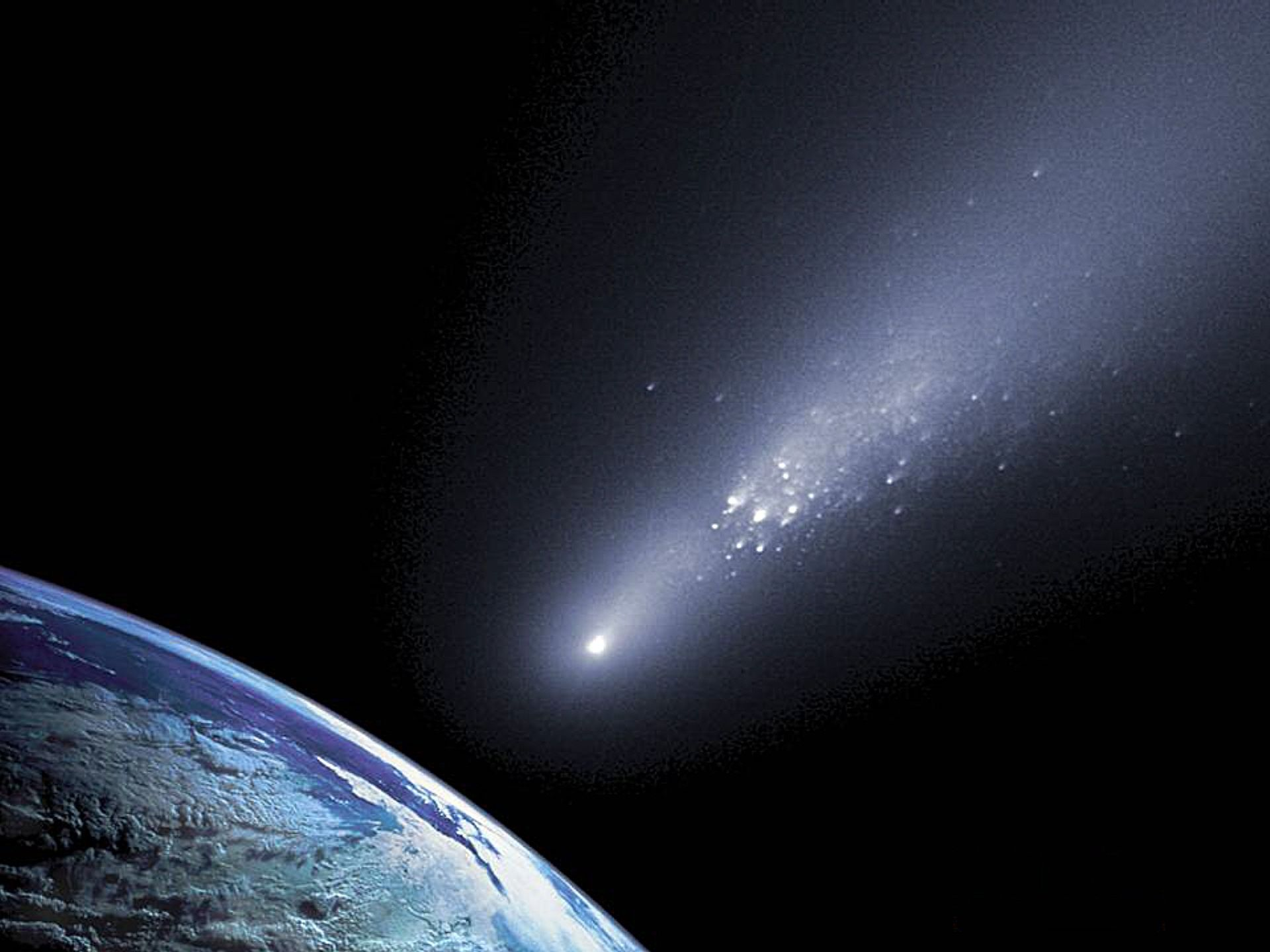earth scientist suggests comet - HD1200×1068