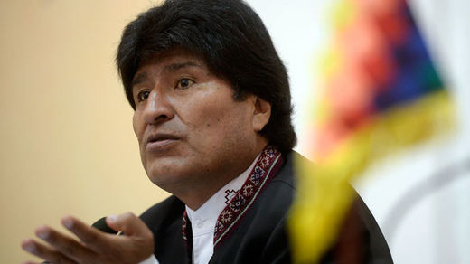 Bolivian president to sue US govt for crimes against humanity