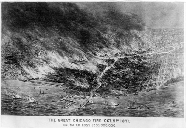 Could a comet have caused the Great Chicago Fire of 1871?