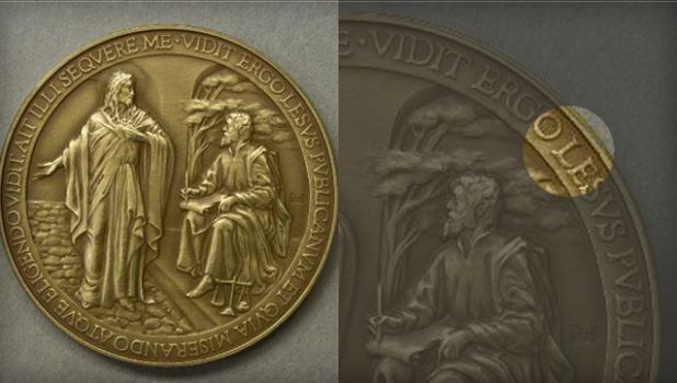 Vatican recalls Pope Francis medals after Jesus' name misspelled