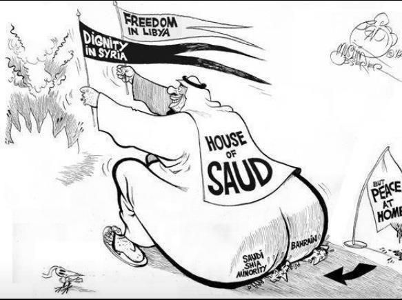 fear and loathing in house of saud -- puppet masters