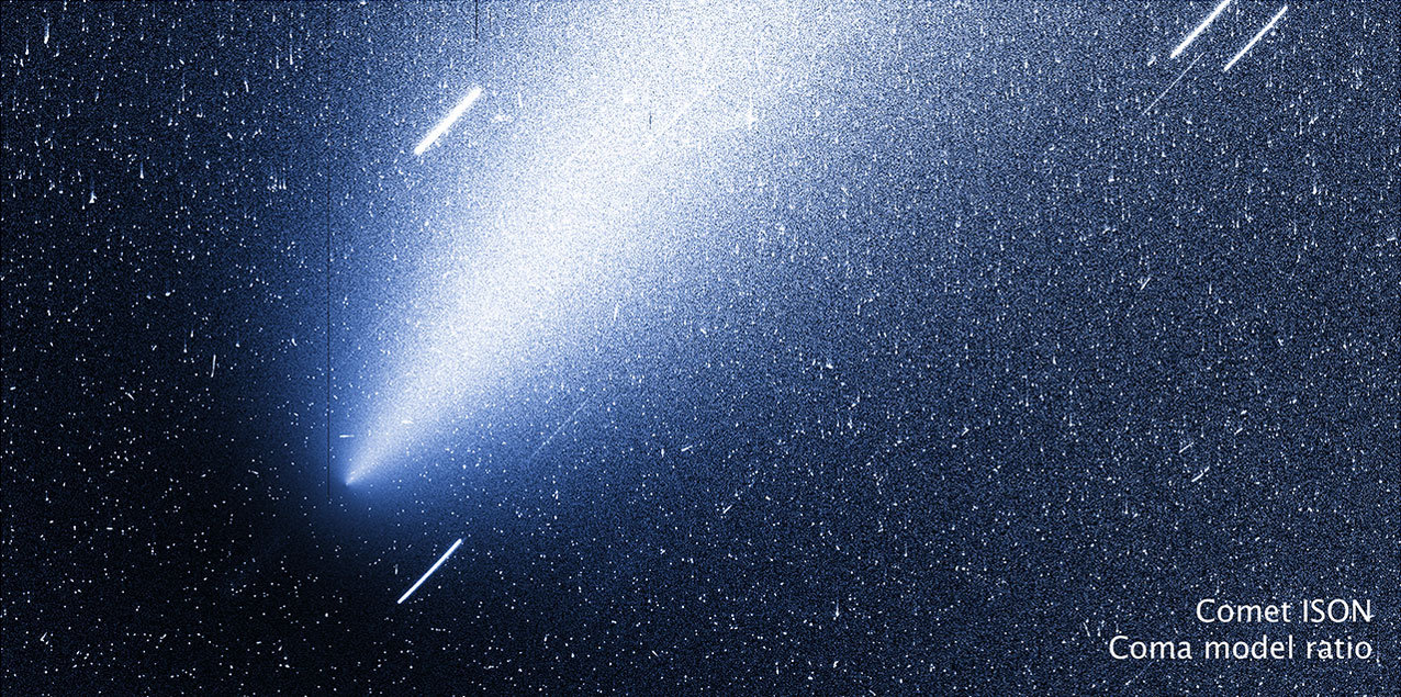 Comet ISON looking 'downright weird' as it approaches the sun