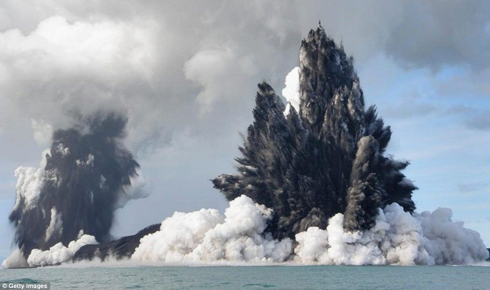 Volcanic eruptions, rising CO2, boiling oceans, and why man-made