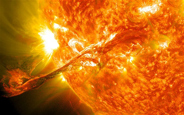 Sun expected to 'flip upside down' as magnetic field reverses its polarity