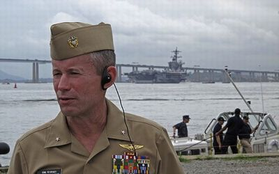 U.S. Navy top intelligence officers suspended for espionage ...