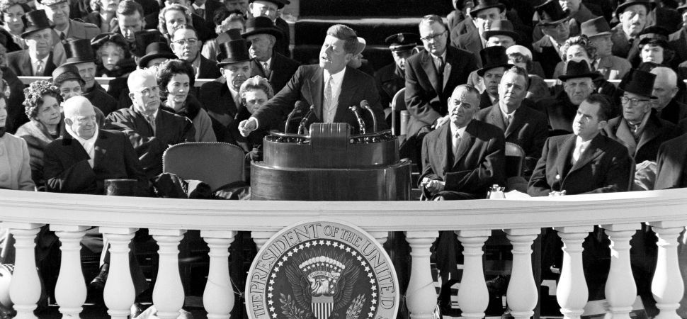 jfk inaugural address meaning