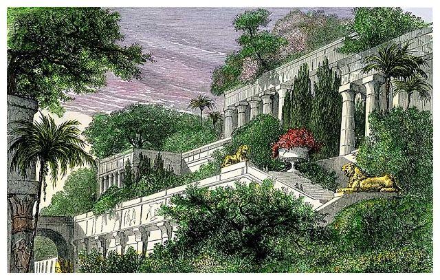 Hanging garden marvel may not be Babylon\'s -- Secret History -- Sott.net