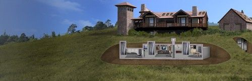 Billionaire bunkers elites prepare for the apocalypse in for Homes for sale with hidden rooms