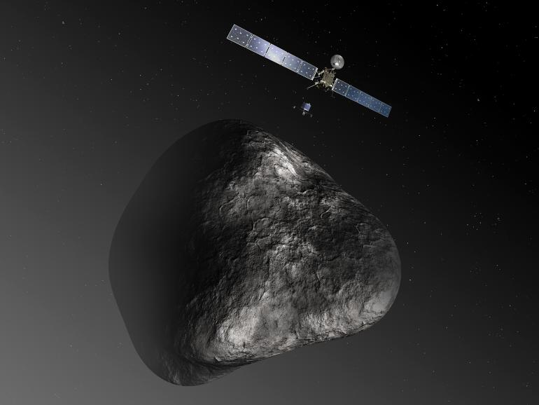 Comet-hunting Rosetta satellite sets date to land on a comet for Nov. 11, 2014