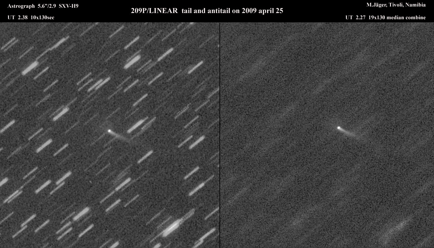 A new major meteor shower in 2014? Earth might be sandblasted with debris from Comet 209P/LINEAR May 24, 2014