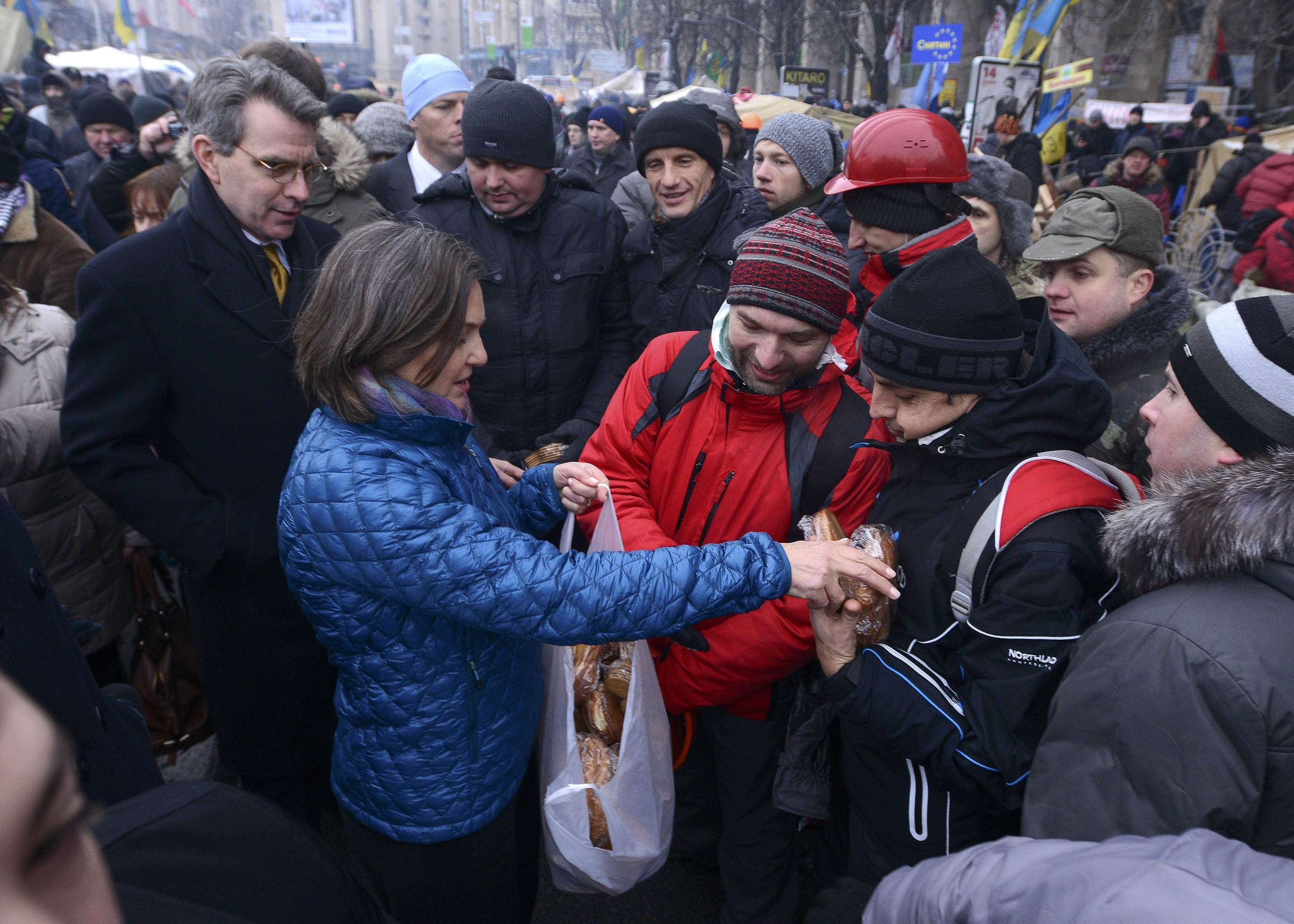 U.S. Assistant Secretary of State Victoria Nuland says Washington has spent $5 billion trying to subvert Ukraine