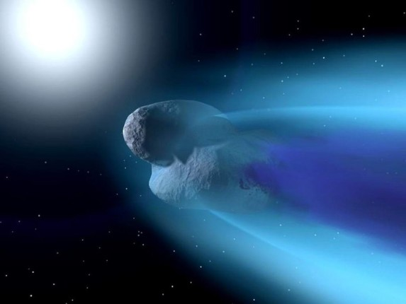 Potentially Hazardous Asteroid 2000 EM26 zipping by Earth on February 17, 2014