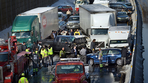 PA turnpike accident