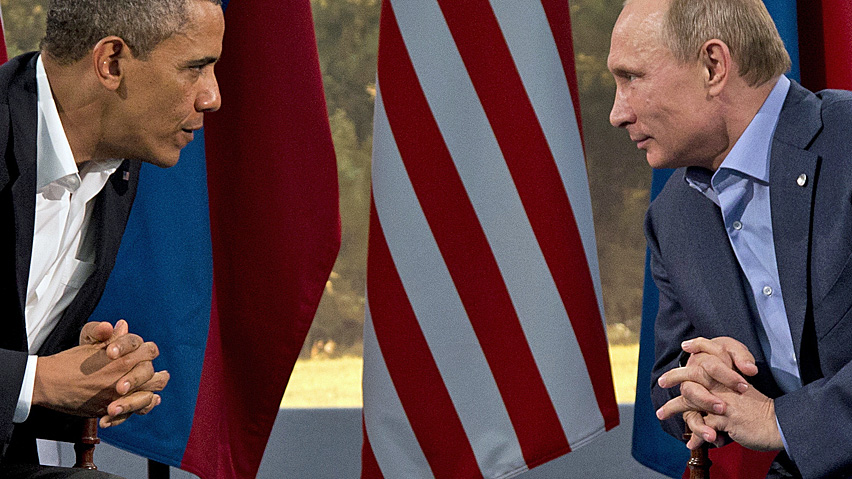 Marathon 90 minute phone call takes place between Obama and Putin, Russian president tells counterpart how it's gonna be
