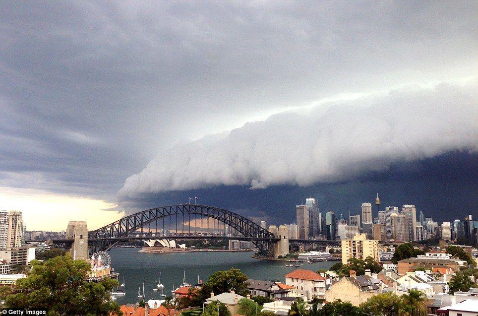 sydney storm - photo #1