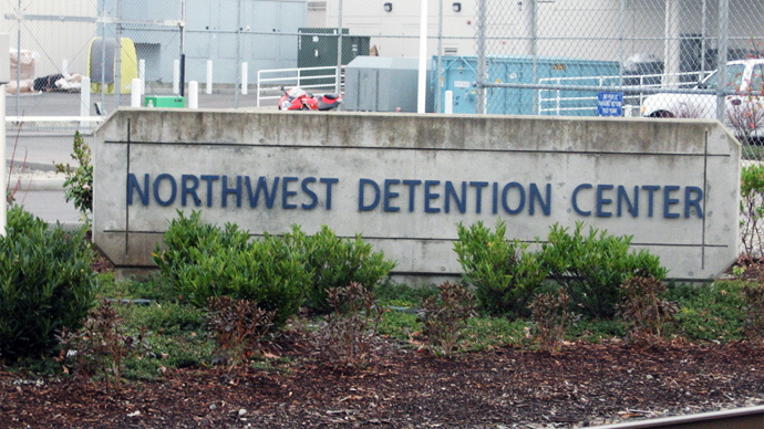 ​Hundreds of immigrant detainees go on hunger strike in Washington to protest deportations and poor conditions