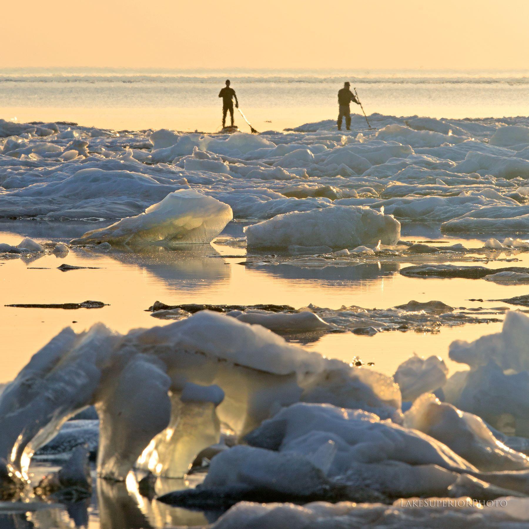 Lake Superior: Lake Superior Breaks Record With Ice Still Around -- Earth