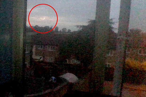 A case for the connection between cosmic and paranormal phenomena? Mysterious dancing fireball captured on camera in Northampton, UK