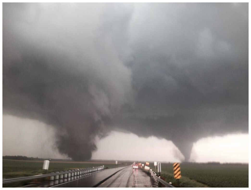 nebraska town devastated  how rare are double tornadoes
