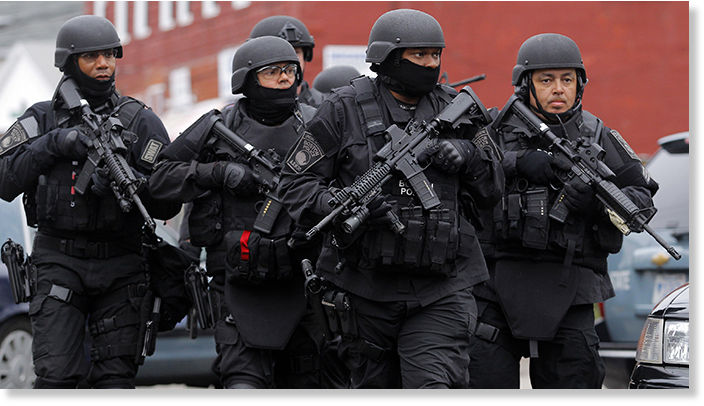Massachusetts SWAT sued for refusing to release records, claiming ...
