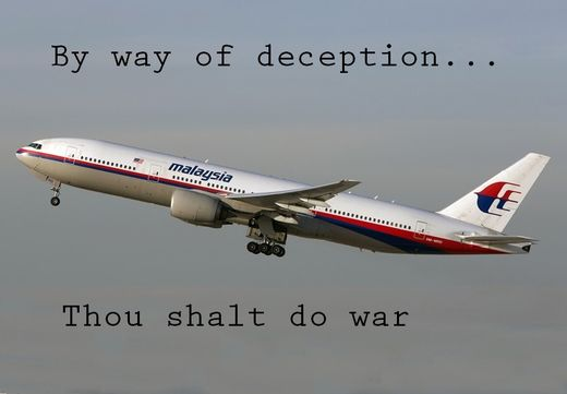 Asymmetric Warfare: MH17 False-Flag Terror and the 'War' on Gaza