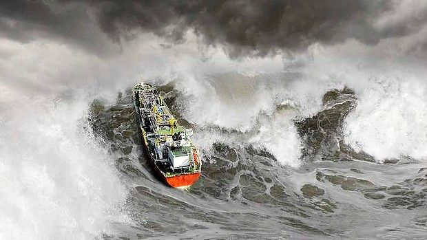 Rogue waves blamed for shipping disasters -- Earth Changes ...